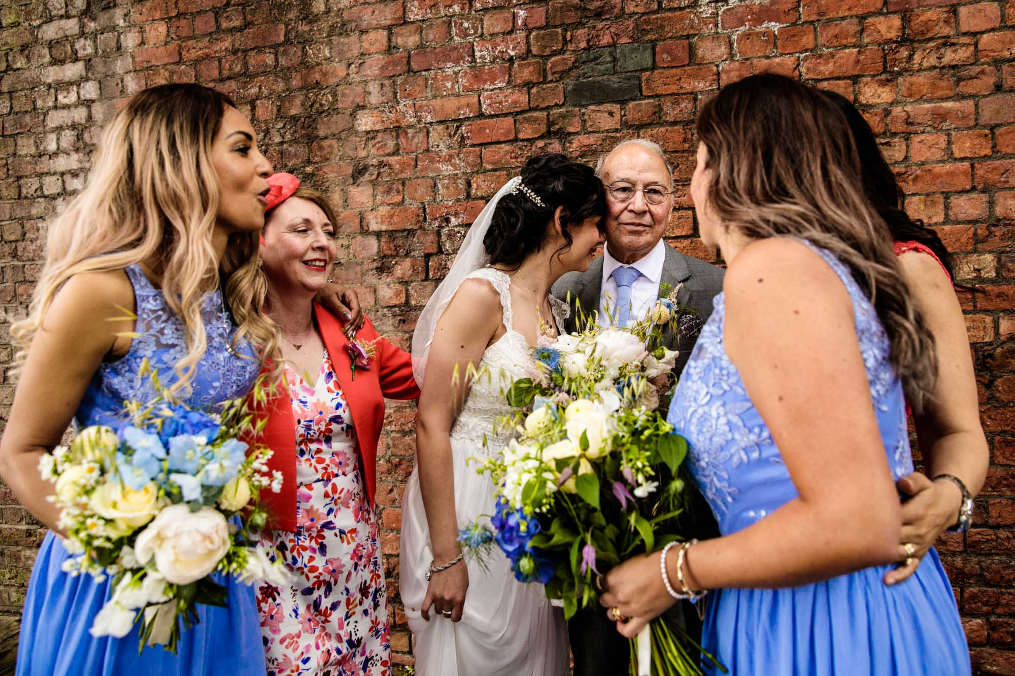Colourful Wedding Photographer Castlefield Rooms