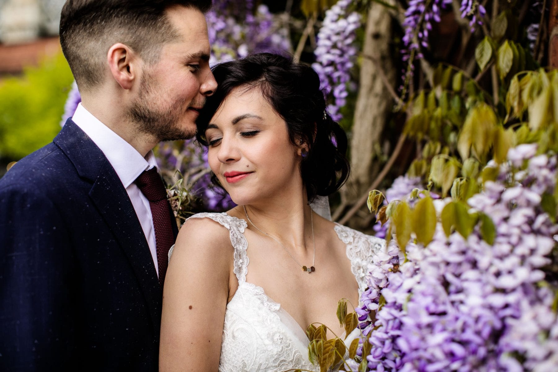 Colourful Wedding Photos Castlefield Rooms