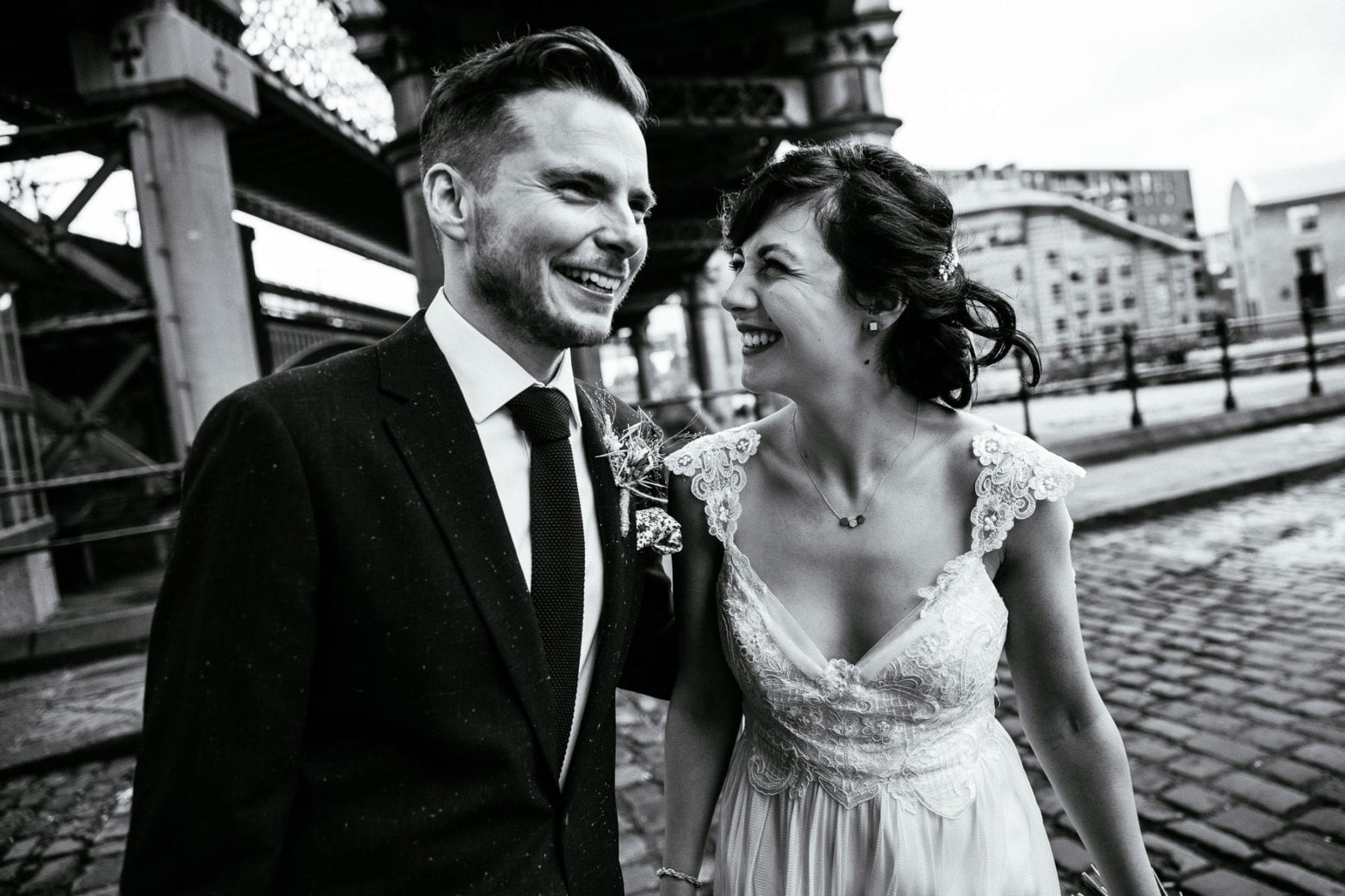 Cool Wedding Photography Castlefield Rooms