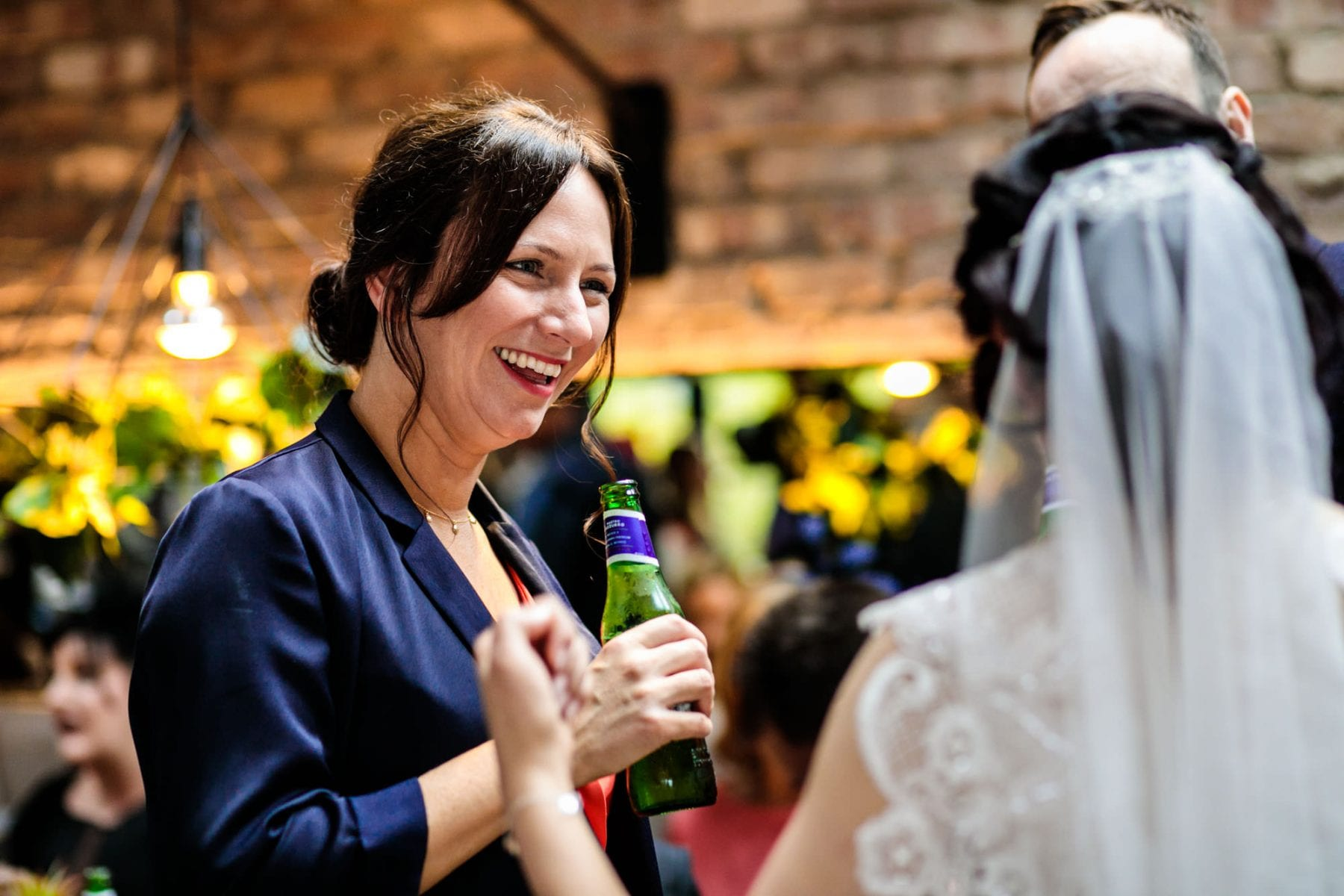 Documentary Wedding Photography Castlefield Rooms