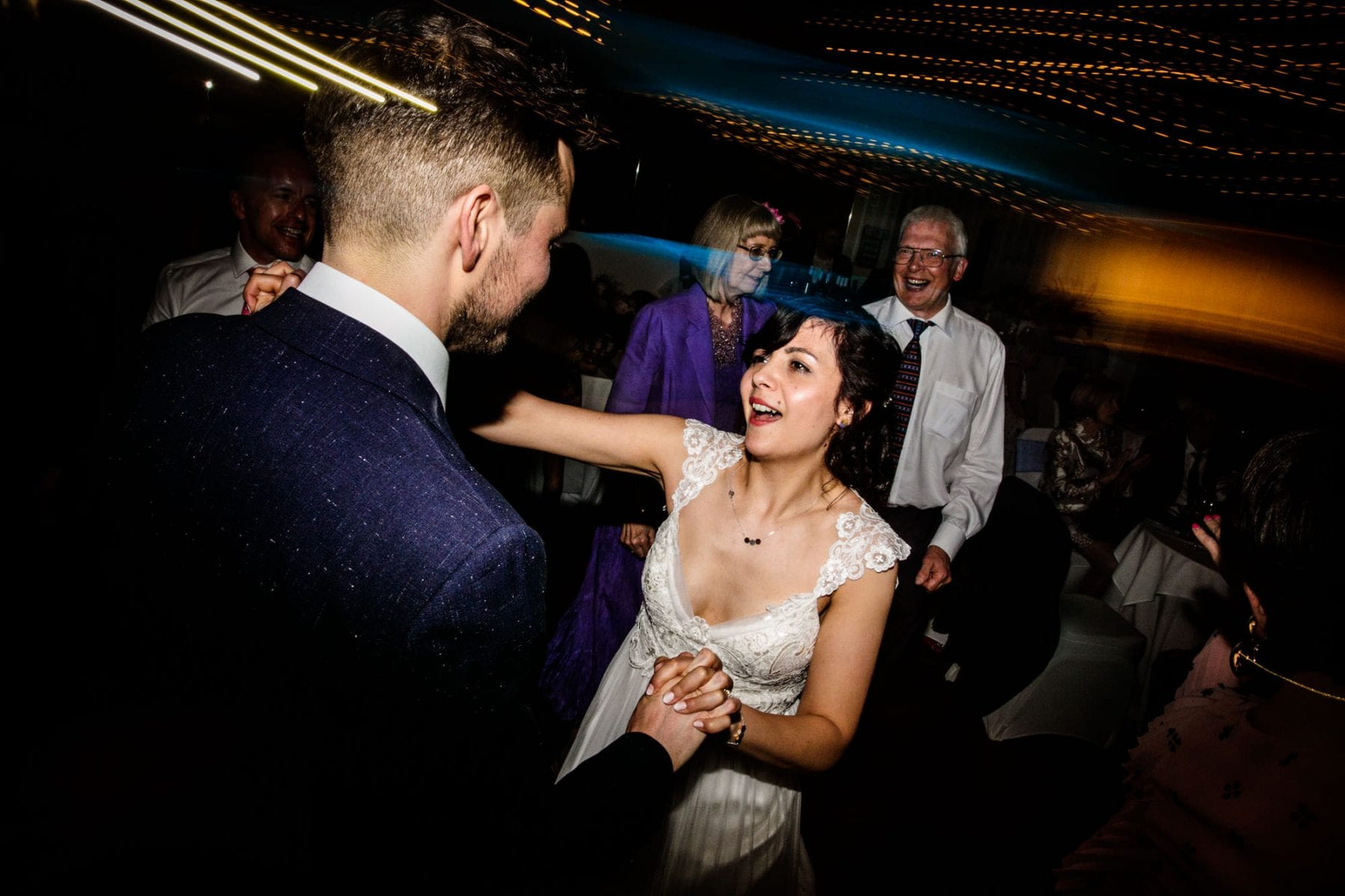 Fun Wedding Photographer Castlefield Rooms