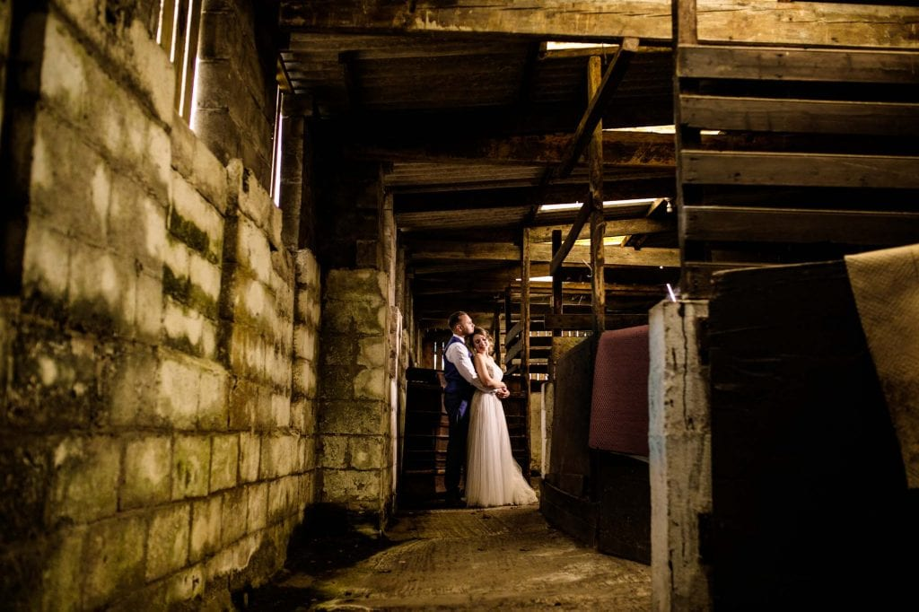 Hilltop Barn Wedding Photographer