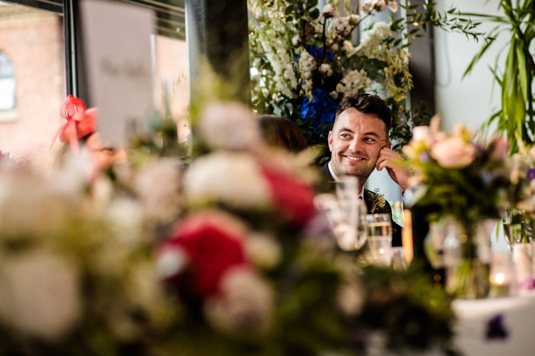 Natural Wedding Photographer Castlefield Rooms