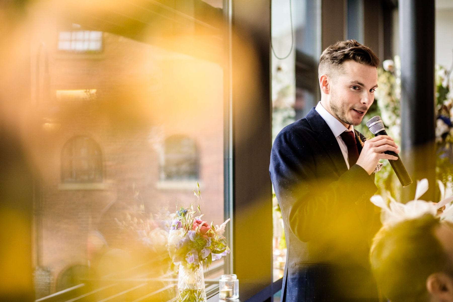 Natural Wedding Photography Castlefield Rooms