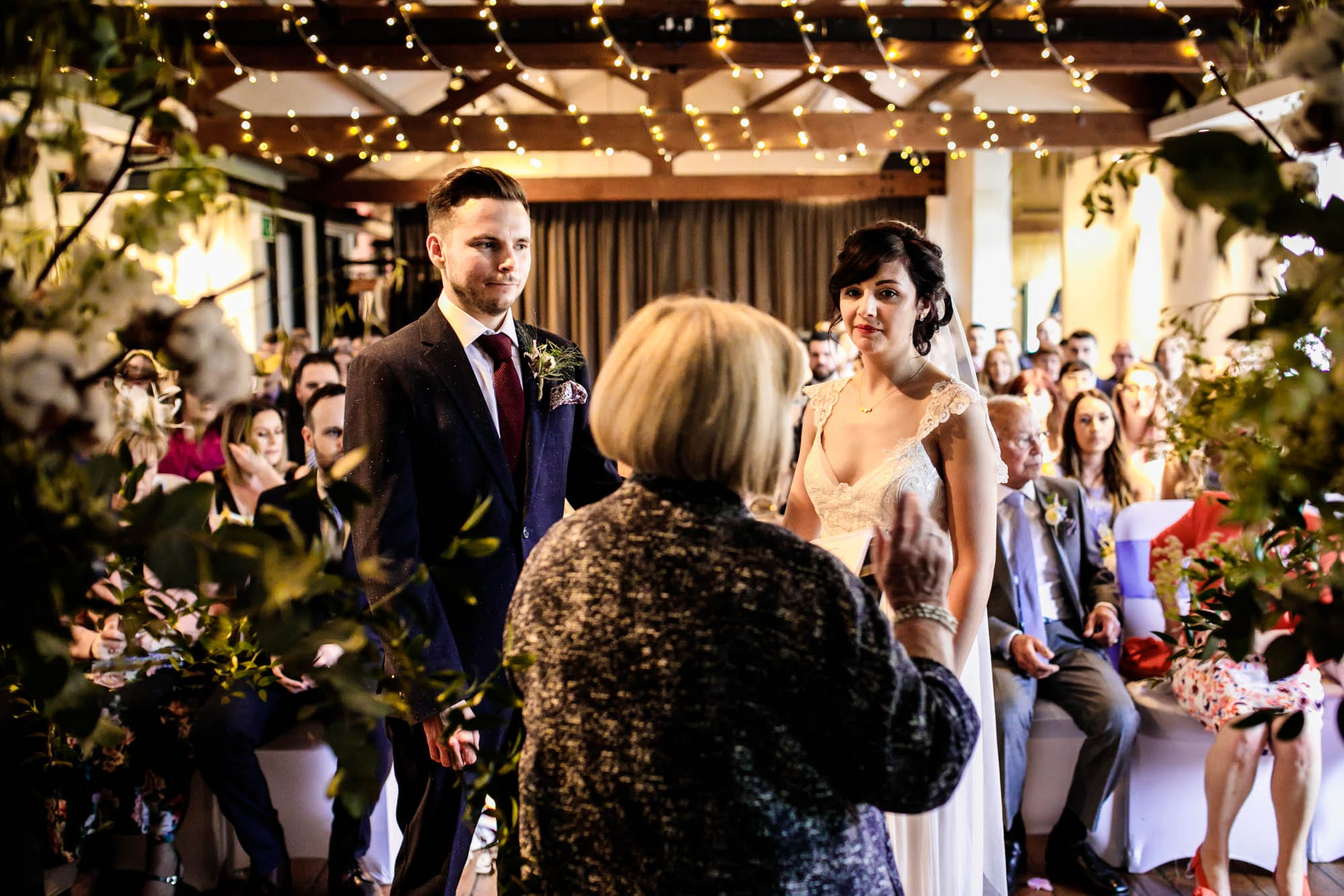 Wedding Ceremony Castlefield Rooms Manchester
