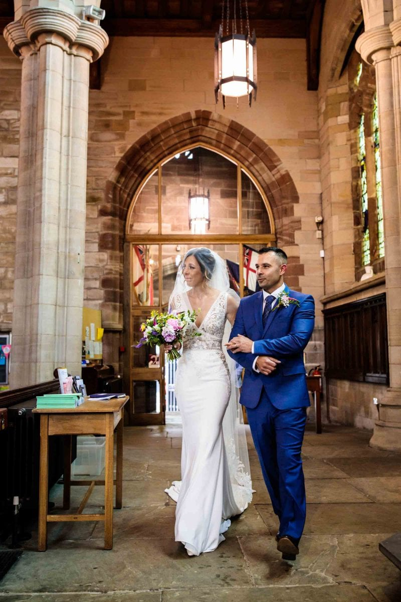 Atherton Parish Church Wedding Photographer