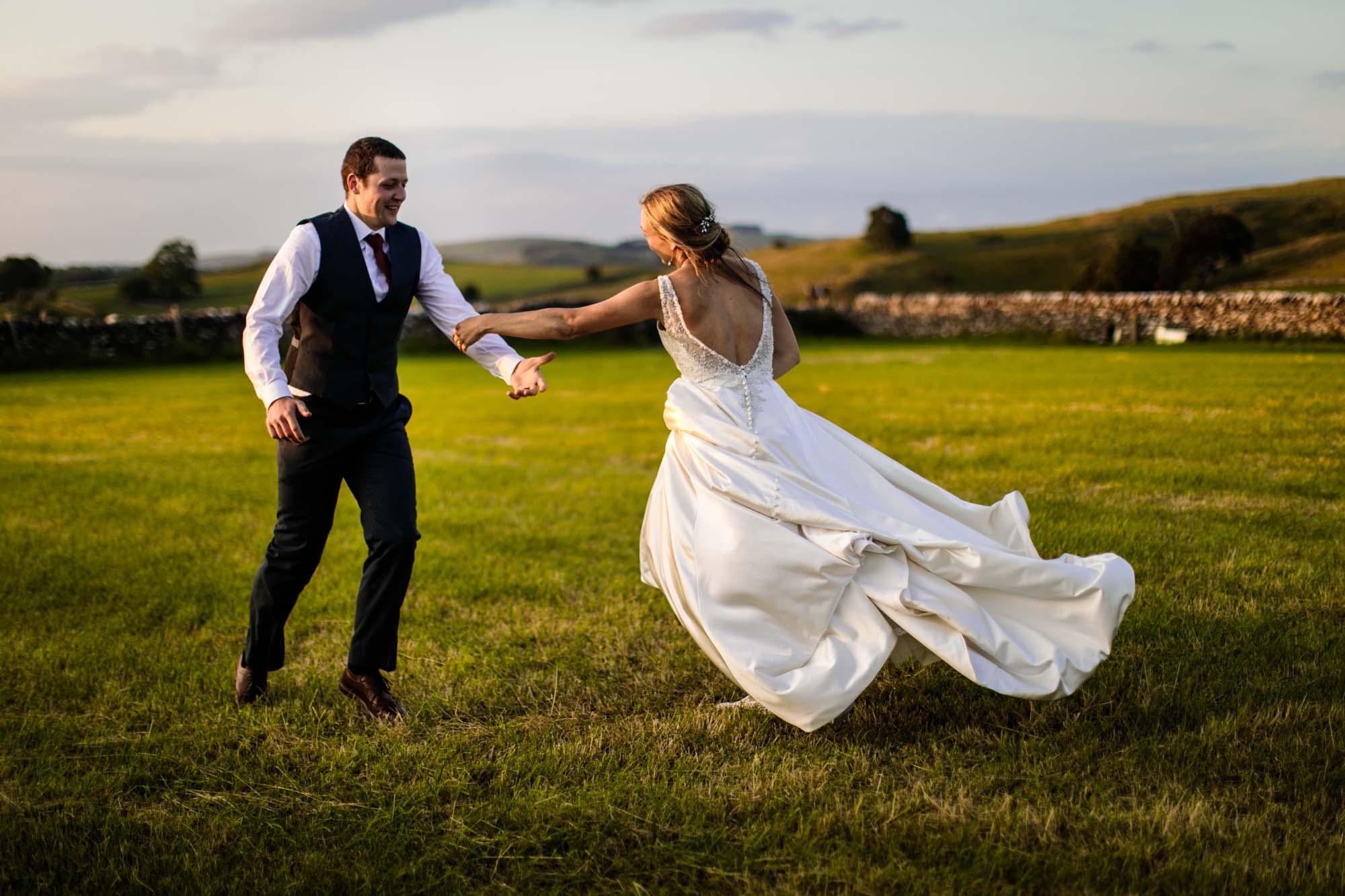 Colourful Wedding Photos Lower Damgate Farm