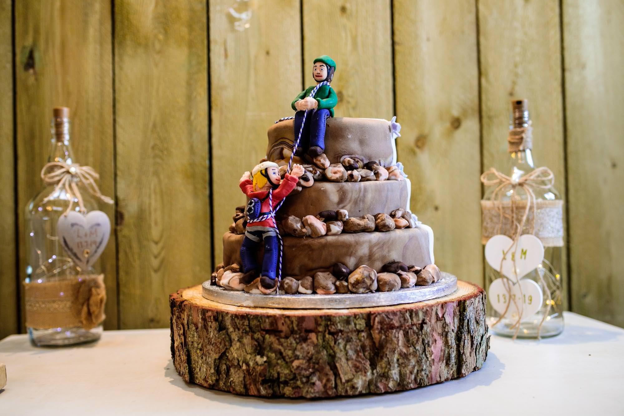 Lower Damgate Farm Wedding Cake