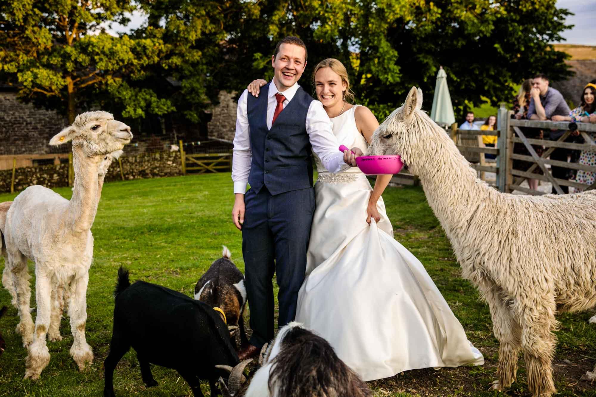 Real Wedding Lower Damgate Farm