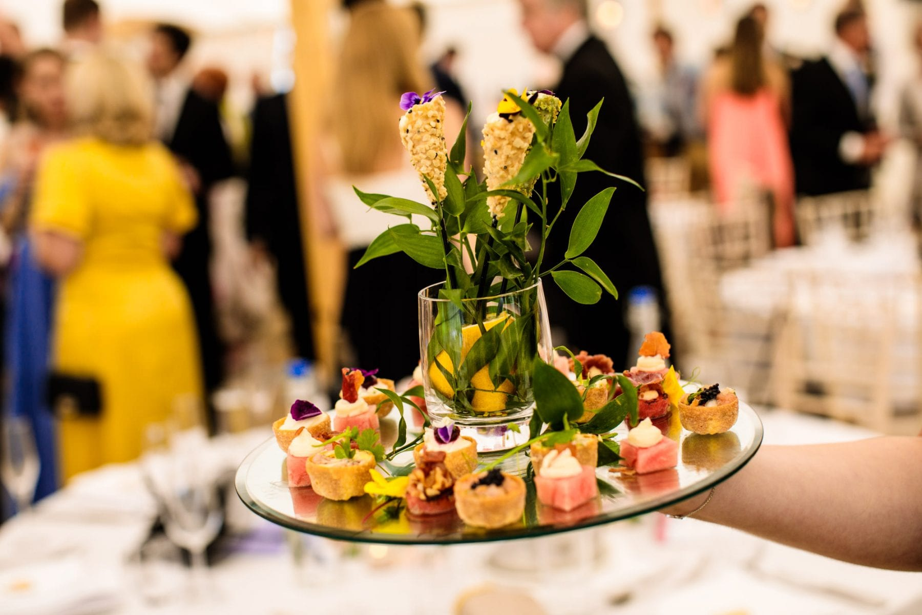 Wedding Canapes Cheshire