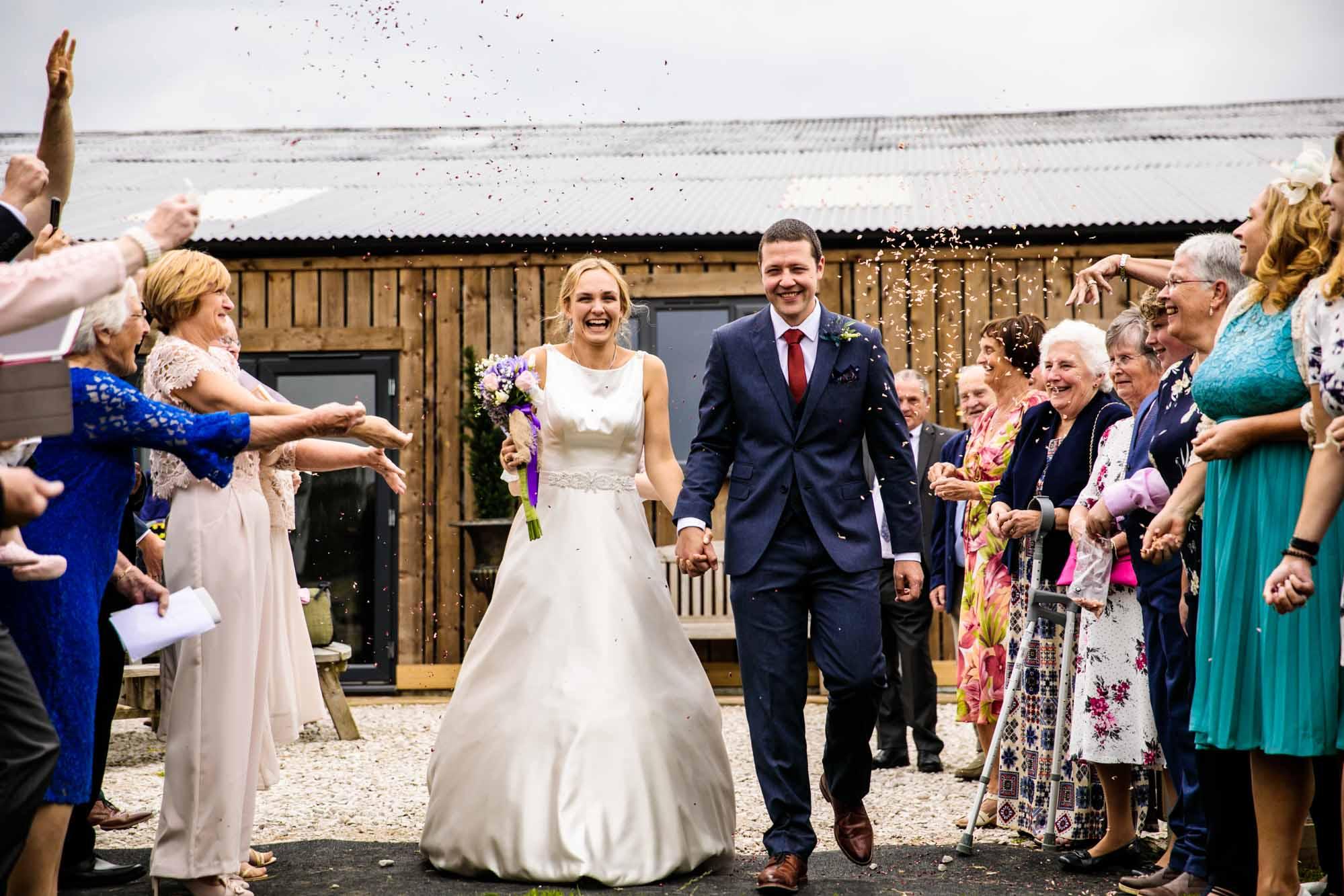 Wedding Ceremony Photos Lower Damgate Farm