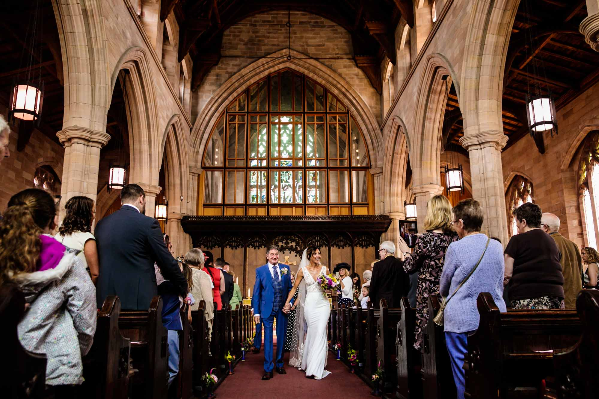 Wedding Photos Atherton Parish Church