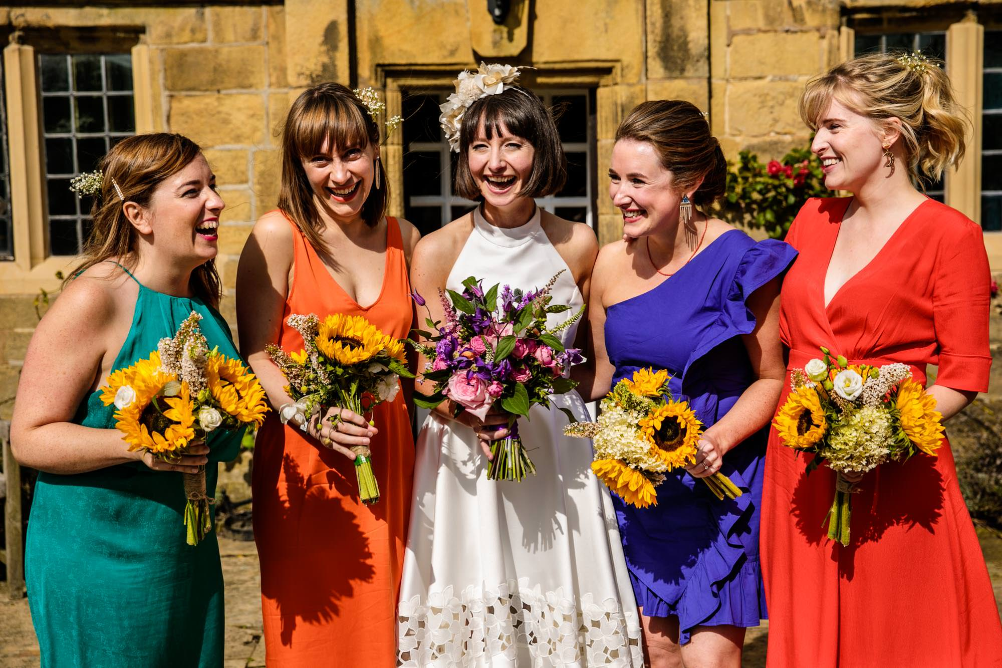 Colourful Wedding Photography