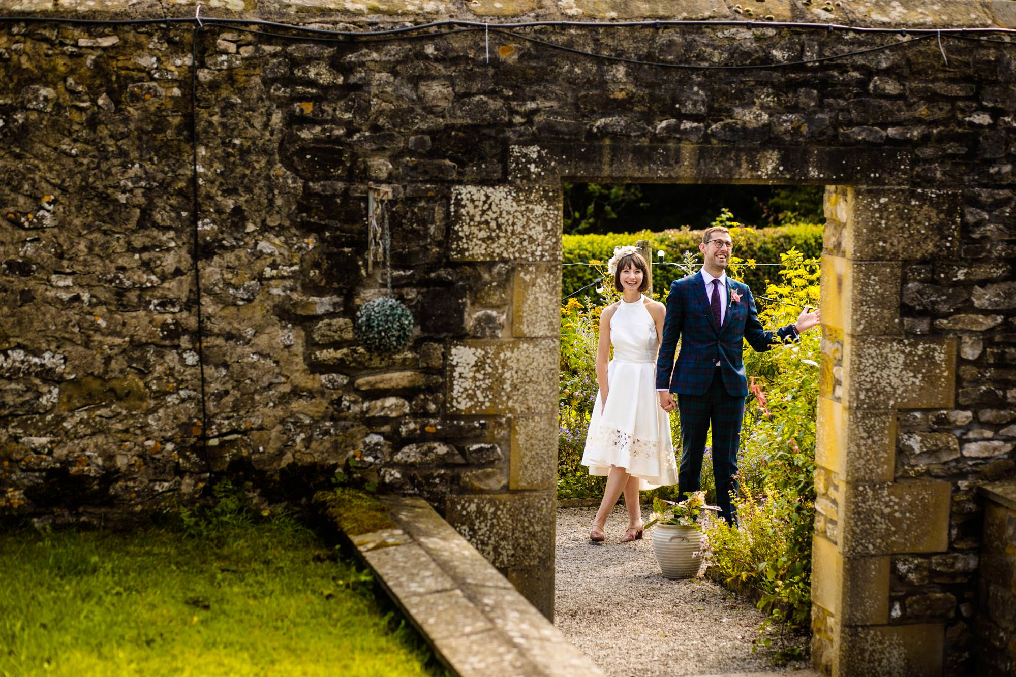 Documentary Wedding Photography Eyam Hall
