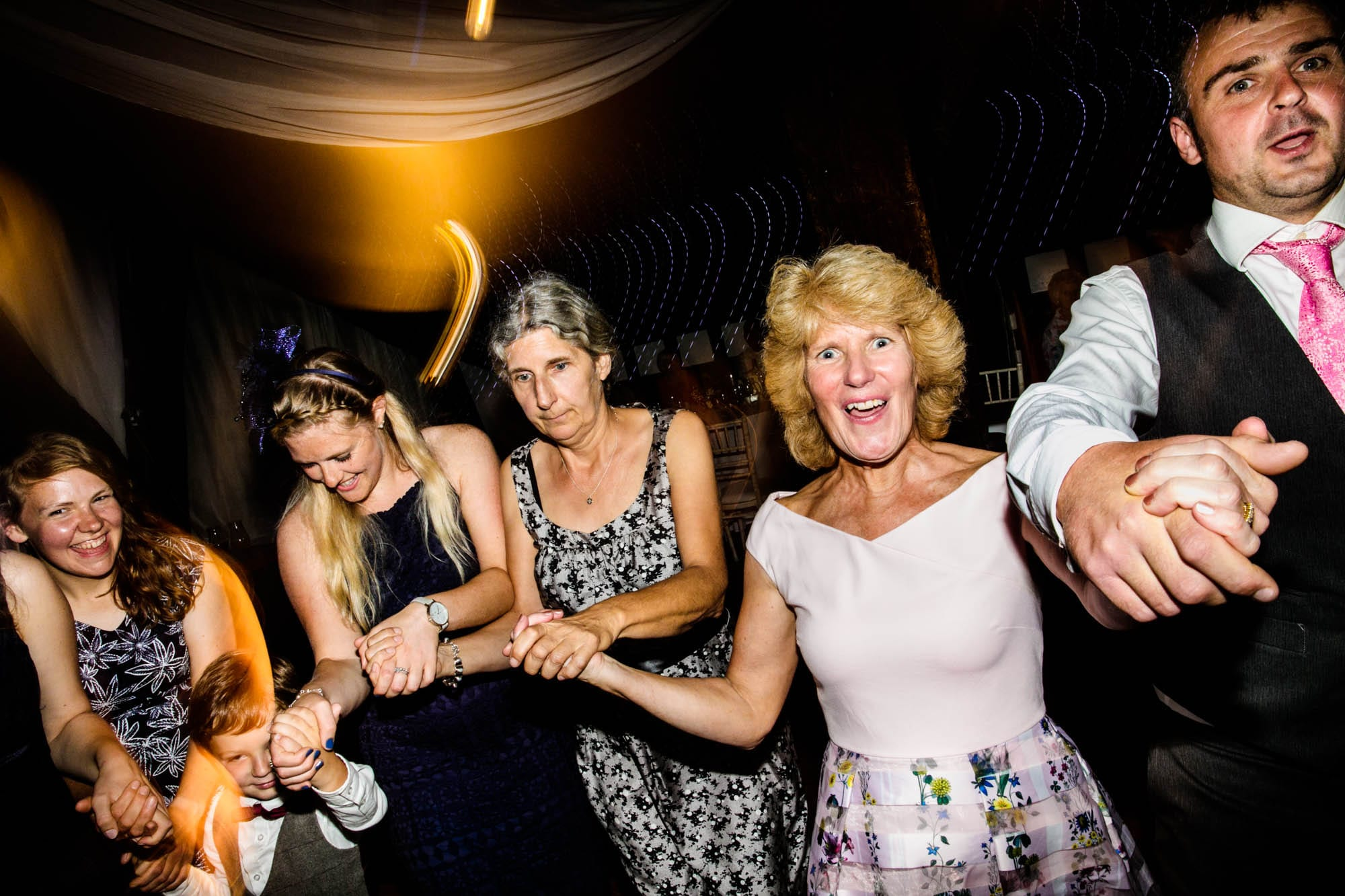Fun Wedding Photographer Rivington Barn