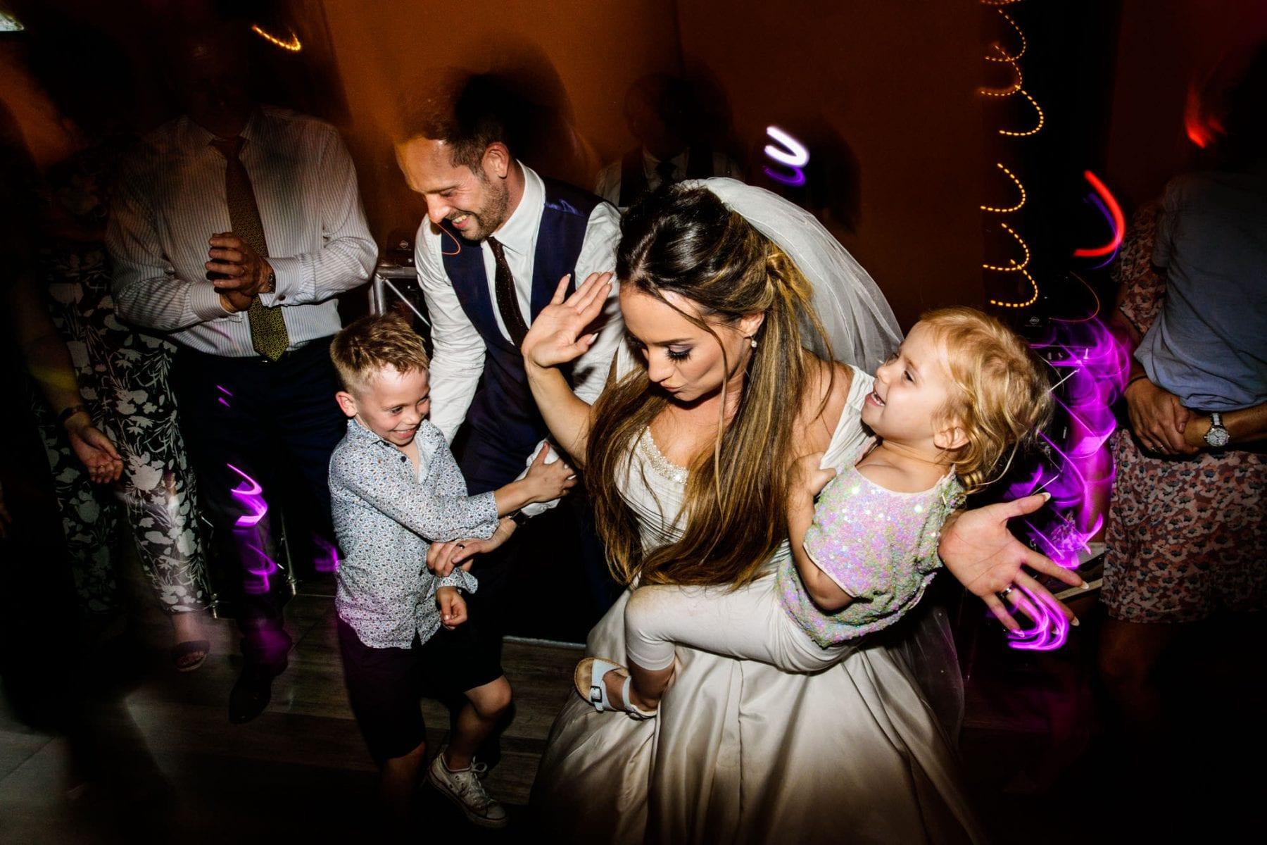 Fun Wedding Photographs Penney Fields