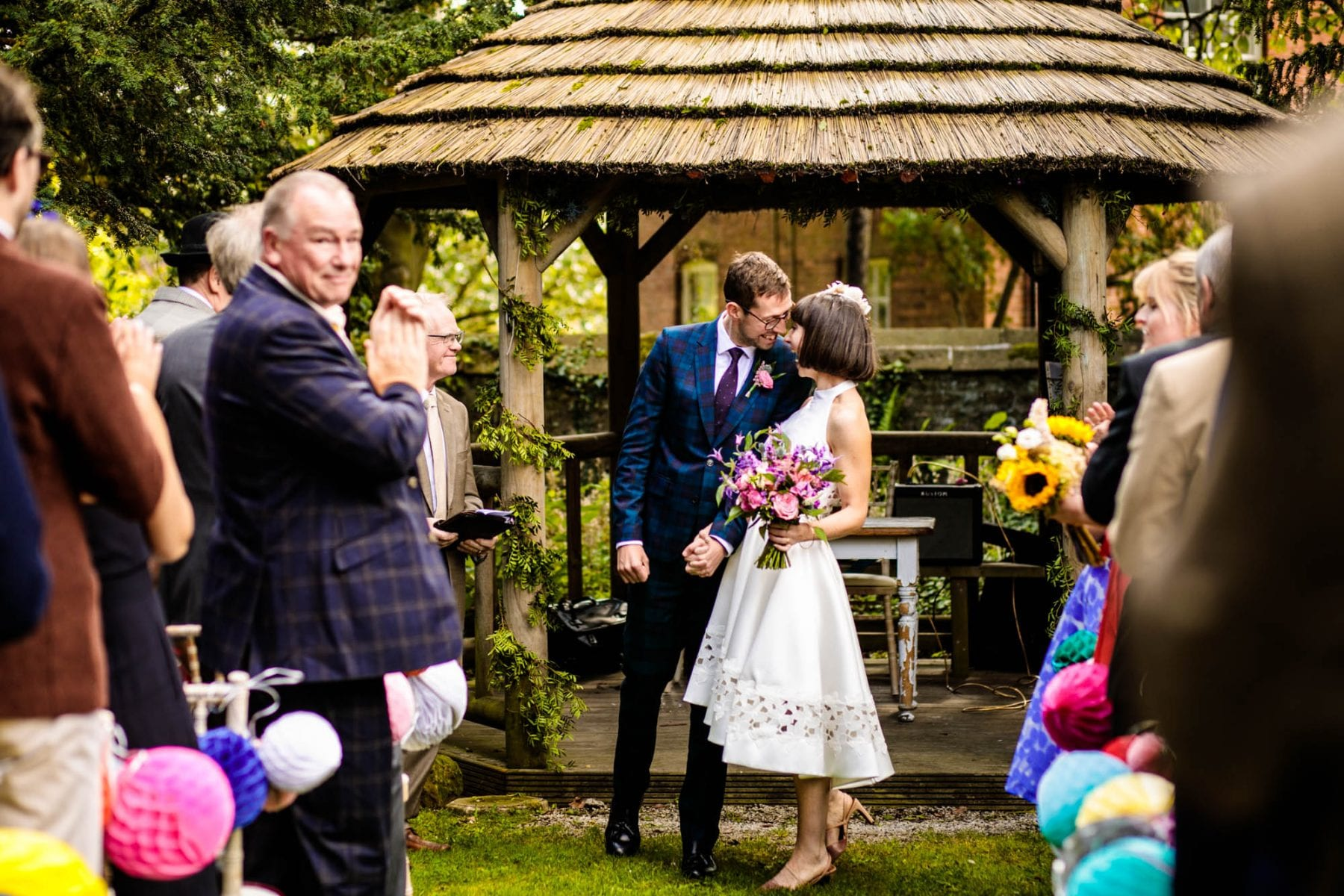 Outdoor Wedding Eyam Hall