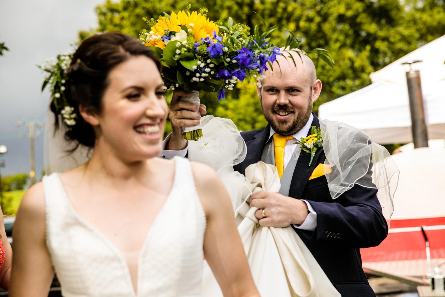Rivington Hall Barn Wedding Photographs
