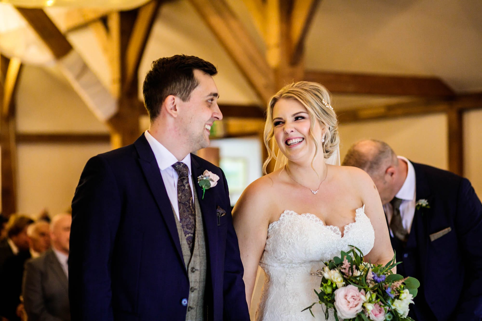 Sandhole Oak Barn Wedding Ceremony