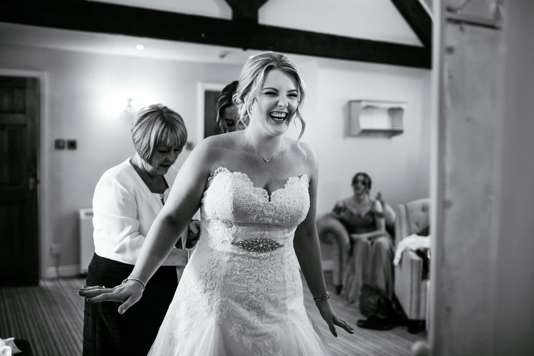 Sandhole Oak Barn Wedding Photographs