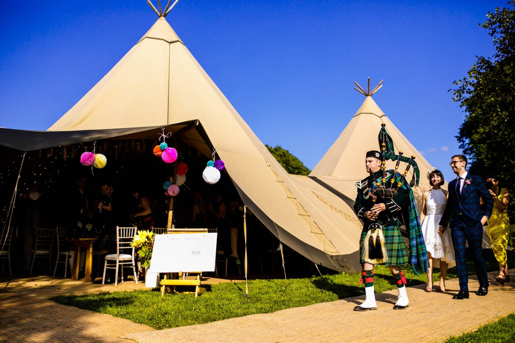 Scottish Wedding Eyam Hall