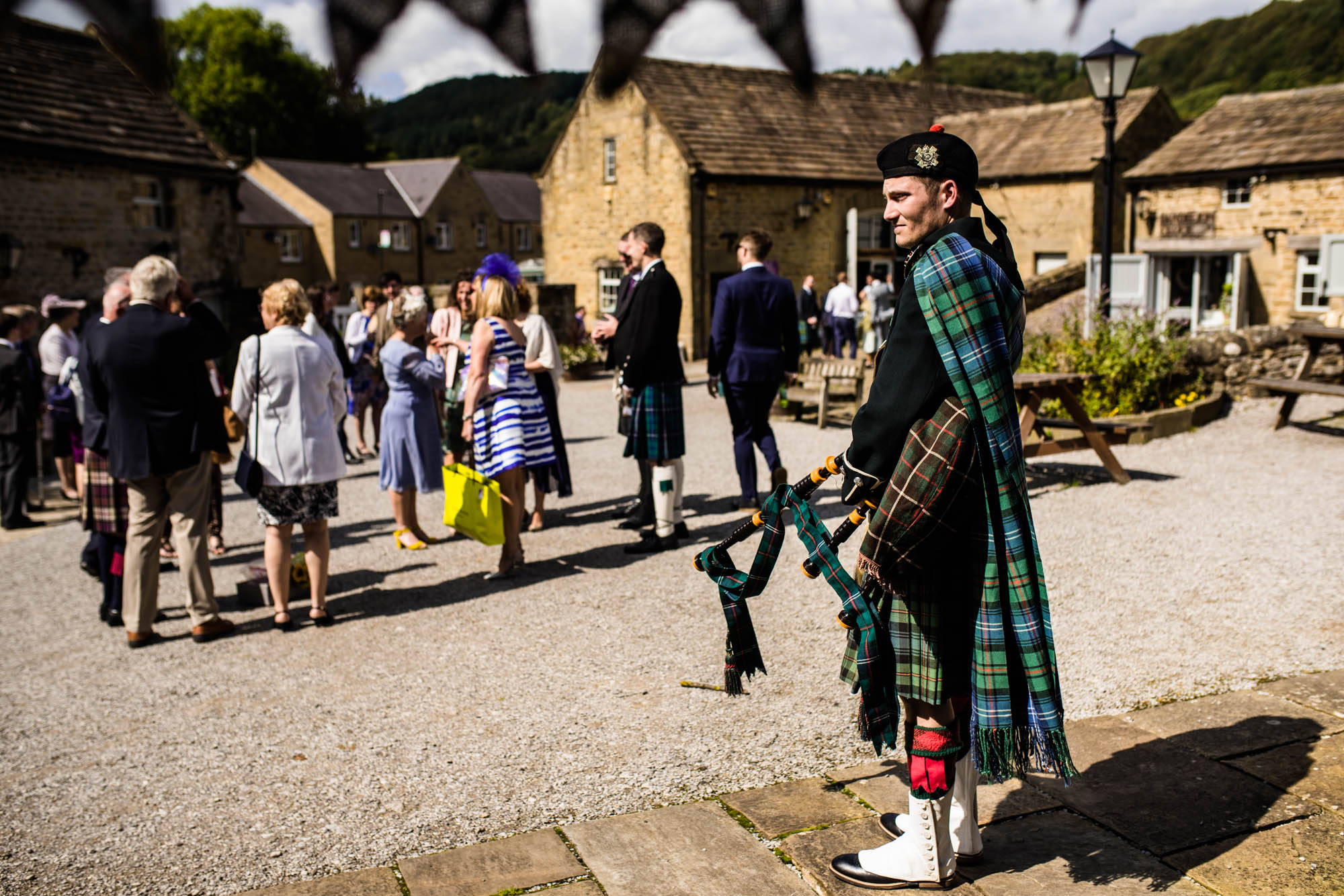 Scottish Wedding Photography Eyam Hall