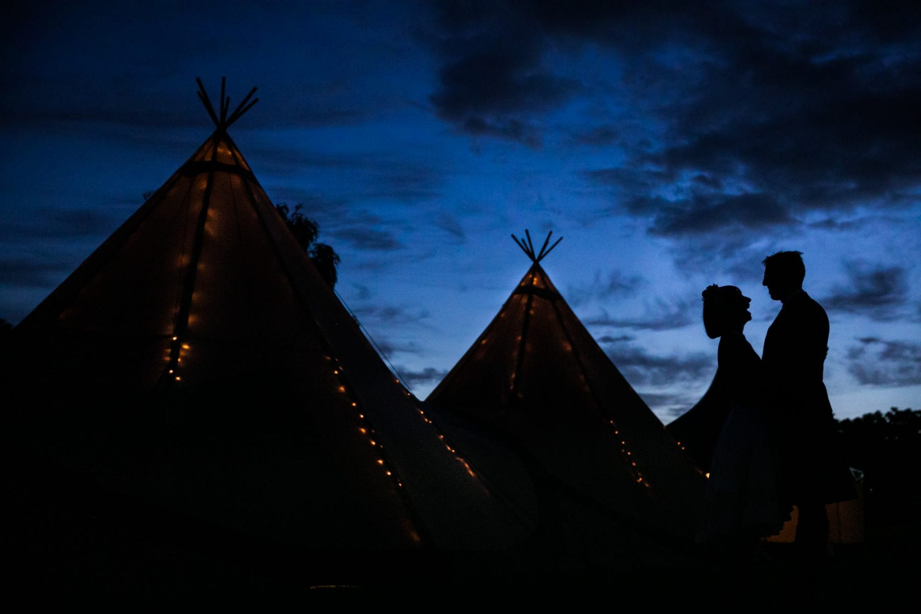 Tipi Wedding Photographs Eyam Hall