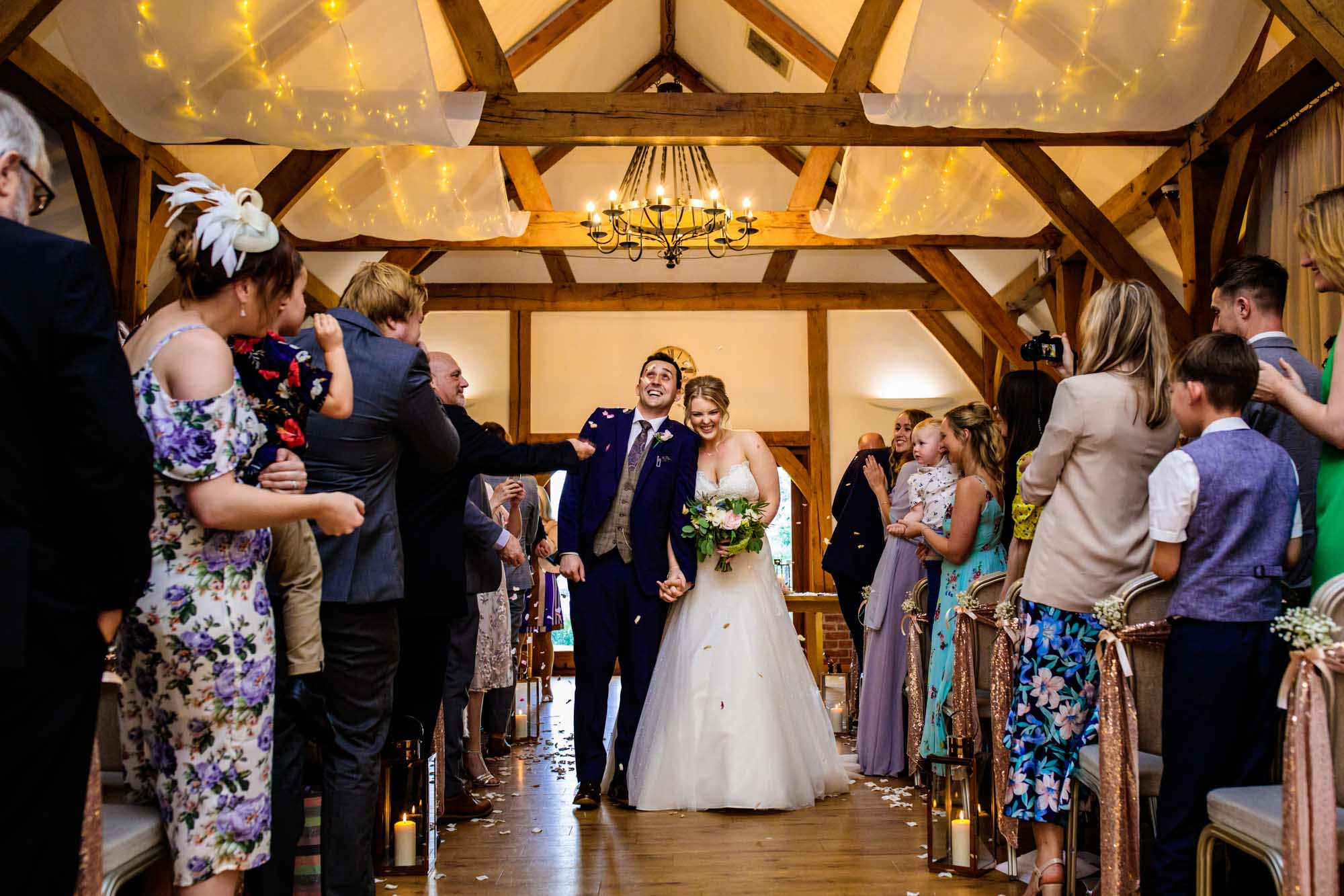 Wedding Ceremony Sandhole Oak Barn