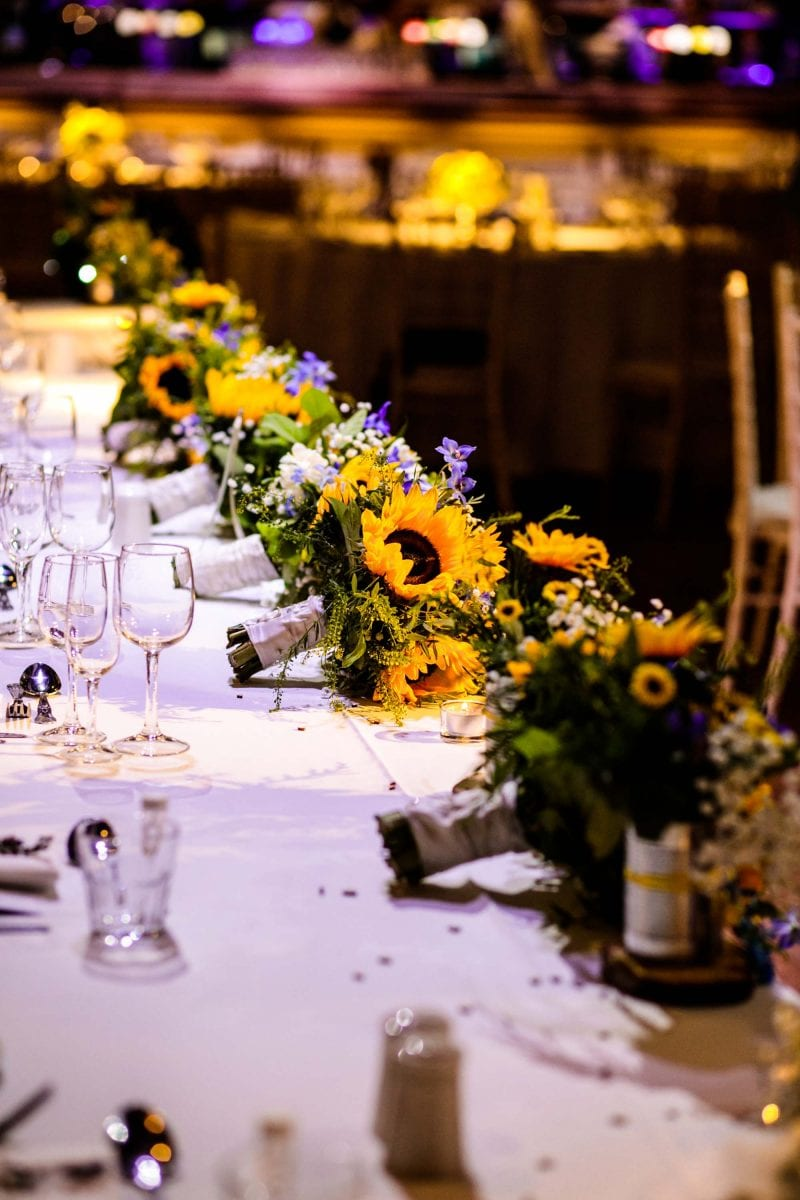 Wedding Reception Rivington Hall Barn
