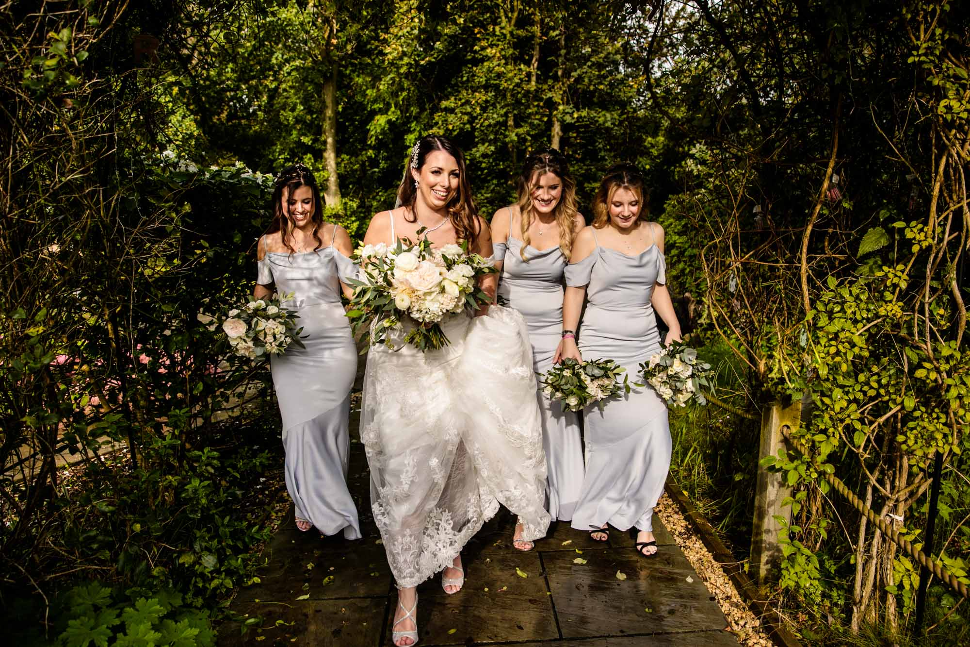 Natural Wedding Photos Oak Tree of Peover