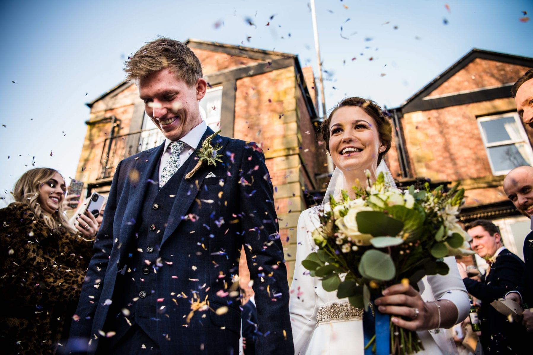 Colourful Wedding Photographs Ashfield House