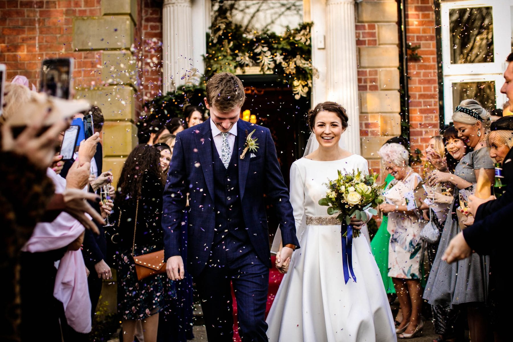 Colourful Wedding Photography Ashfield House