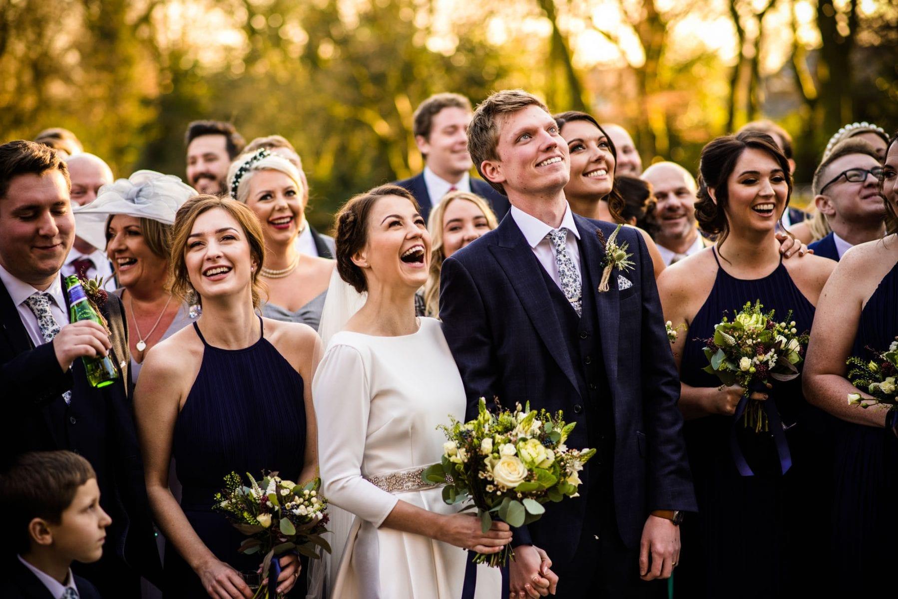 Colourful Wedding Photos Ashfield House