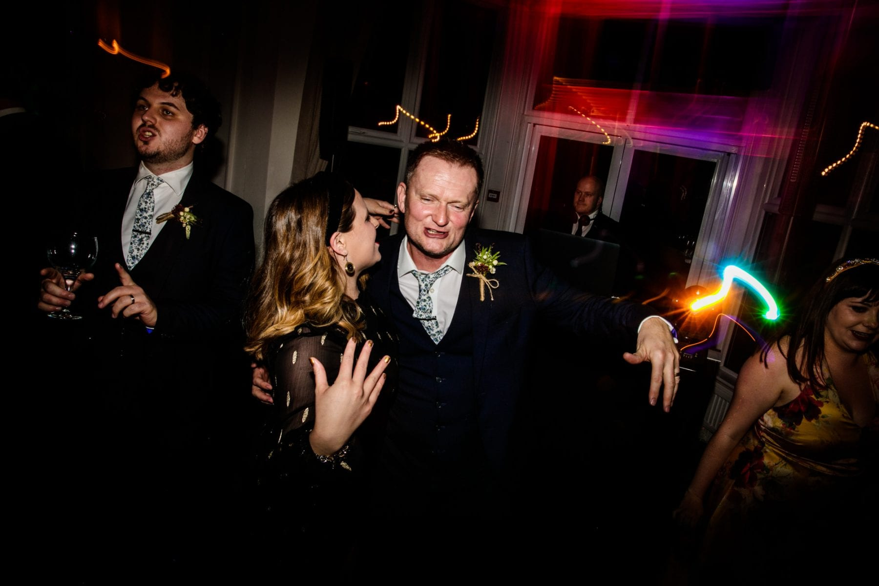 Fun Wedding Photographer Ashfield House