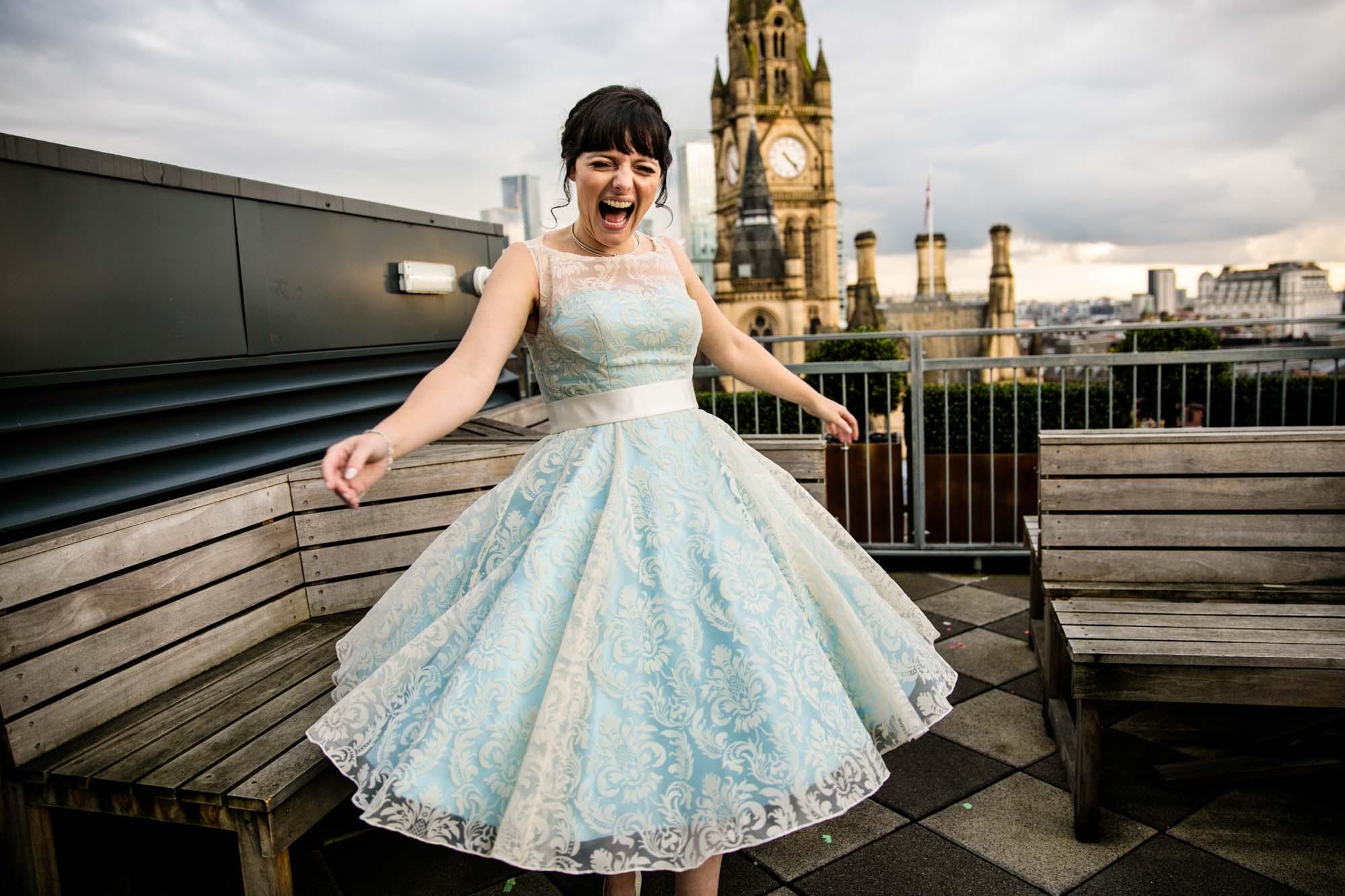 Fun Wedding Photographer Cheshire