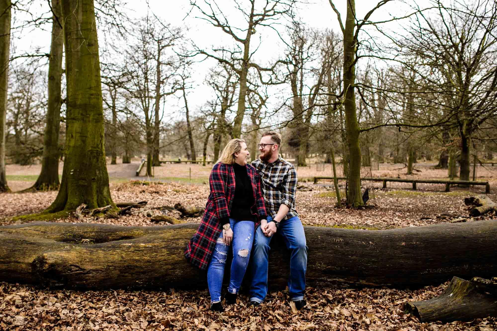 Cheshire Engagement Shoot