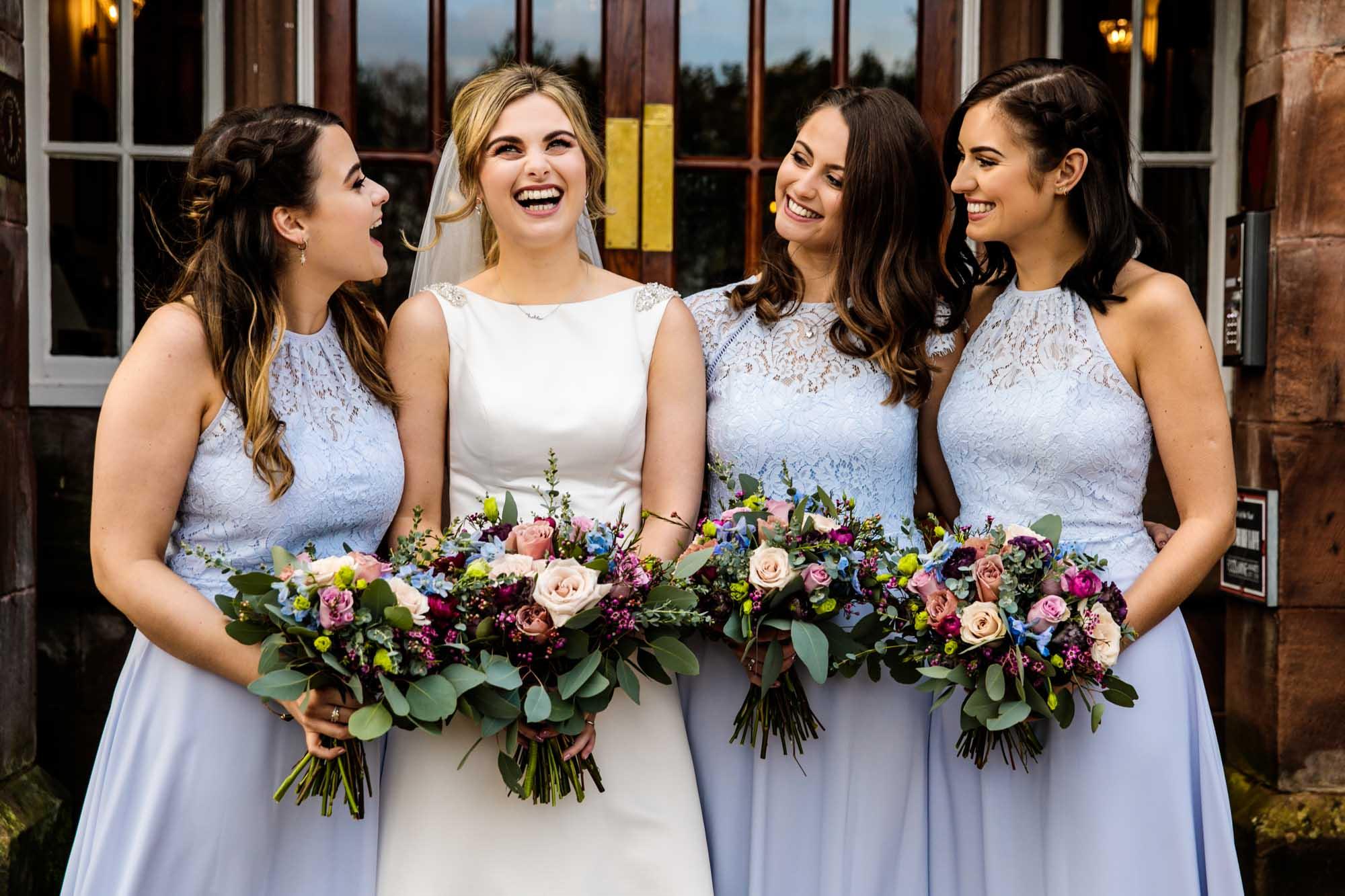 Colourful Wedding Photographer Nunsmere Hall