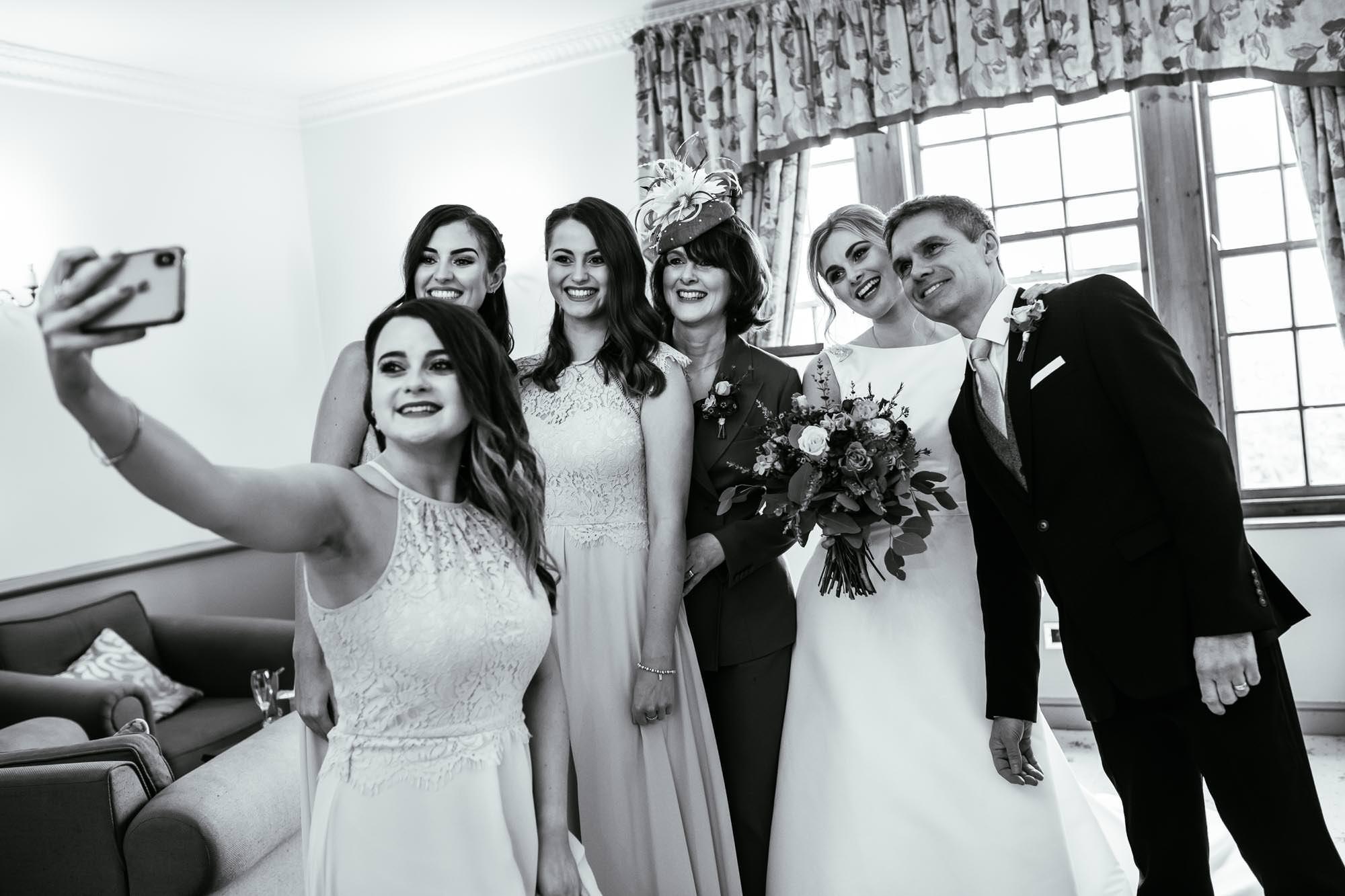 Documentary Wedding Photographs Nunsmere Hall