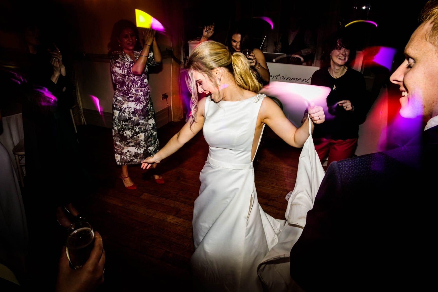 Fun Wedding Photography Nunsmere Hall