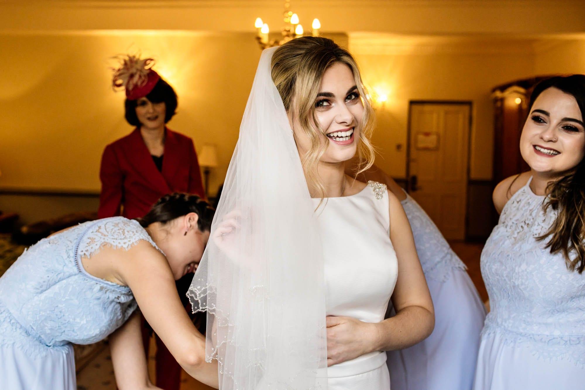 Natural Wedding Photographer Nunsmere Hall