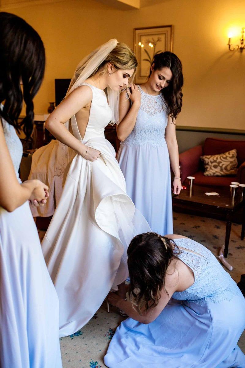 Natural Wedding Photographs Nunsmere Hall