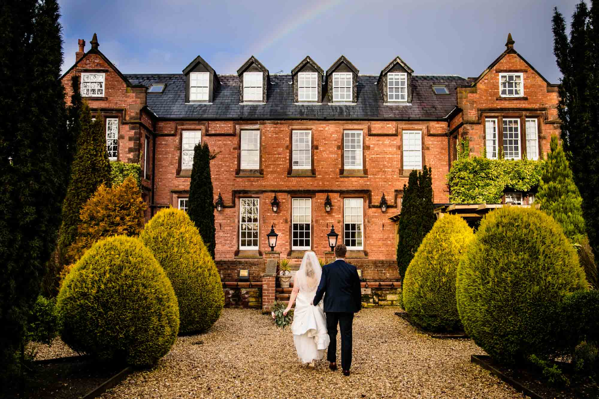 Nunsmere Hall Wedding Photographs