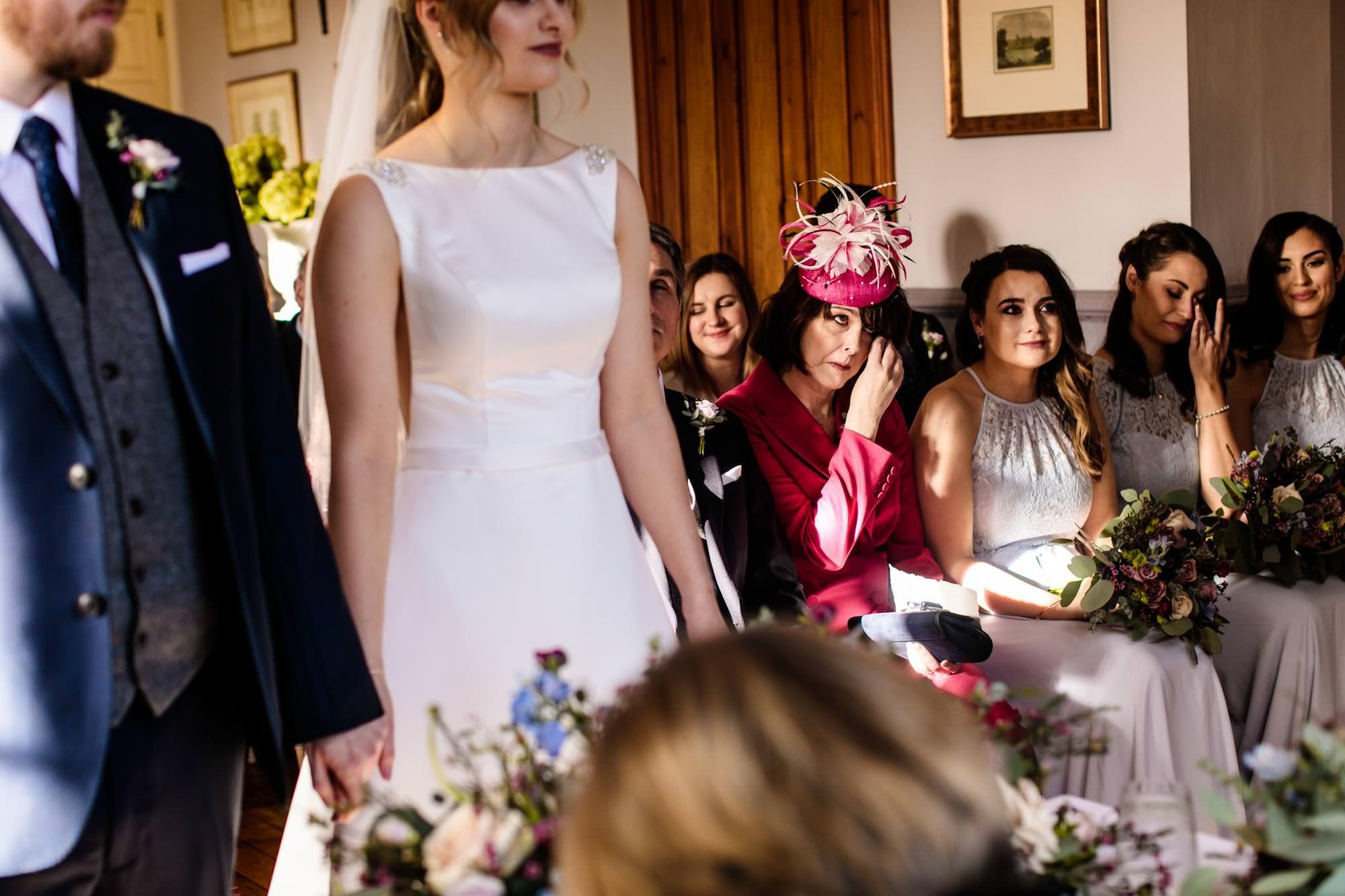 Wedding Ceremony Nunsmere Hall