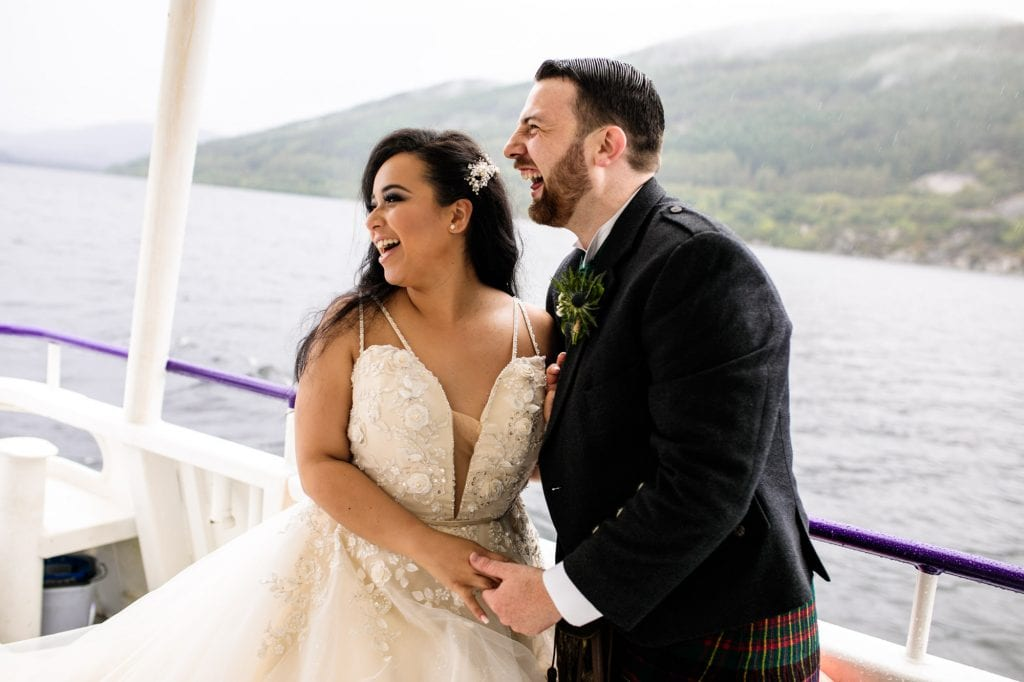 Loch Ness Wedding Photography