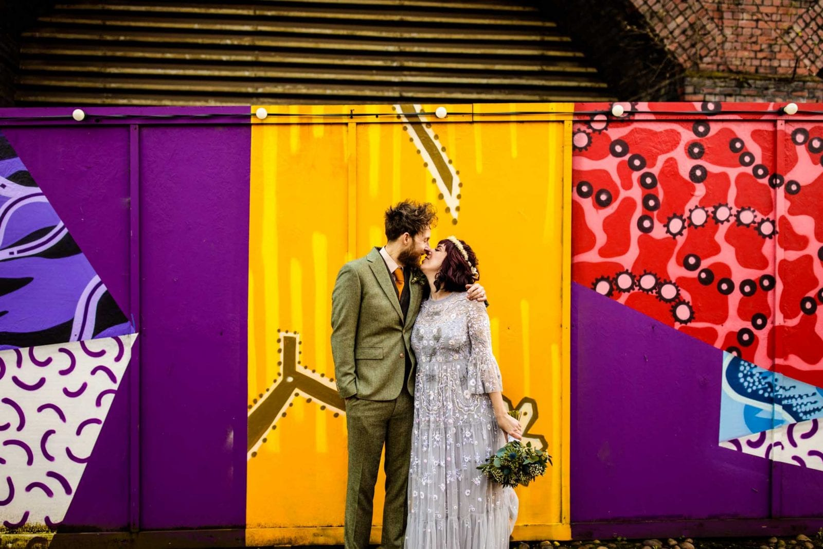 Alternative Wedding Photos Manchester