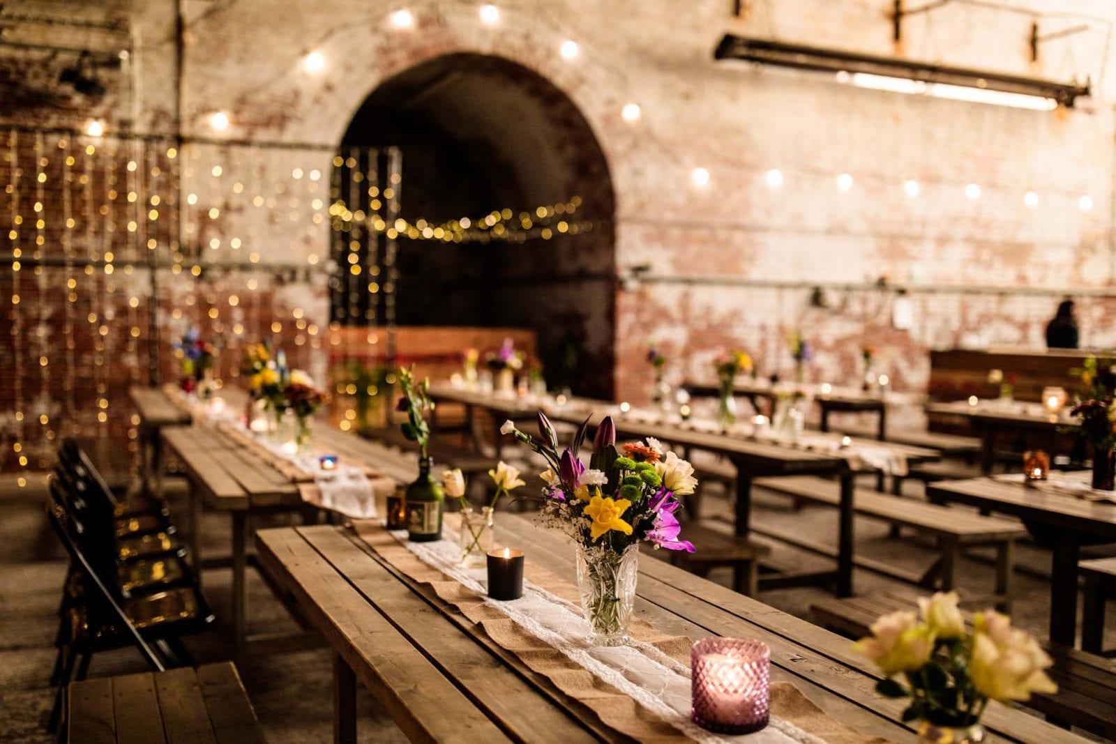Fairfield Social Club Wedding Reception