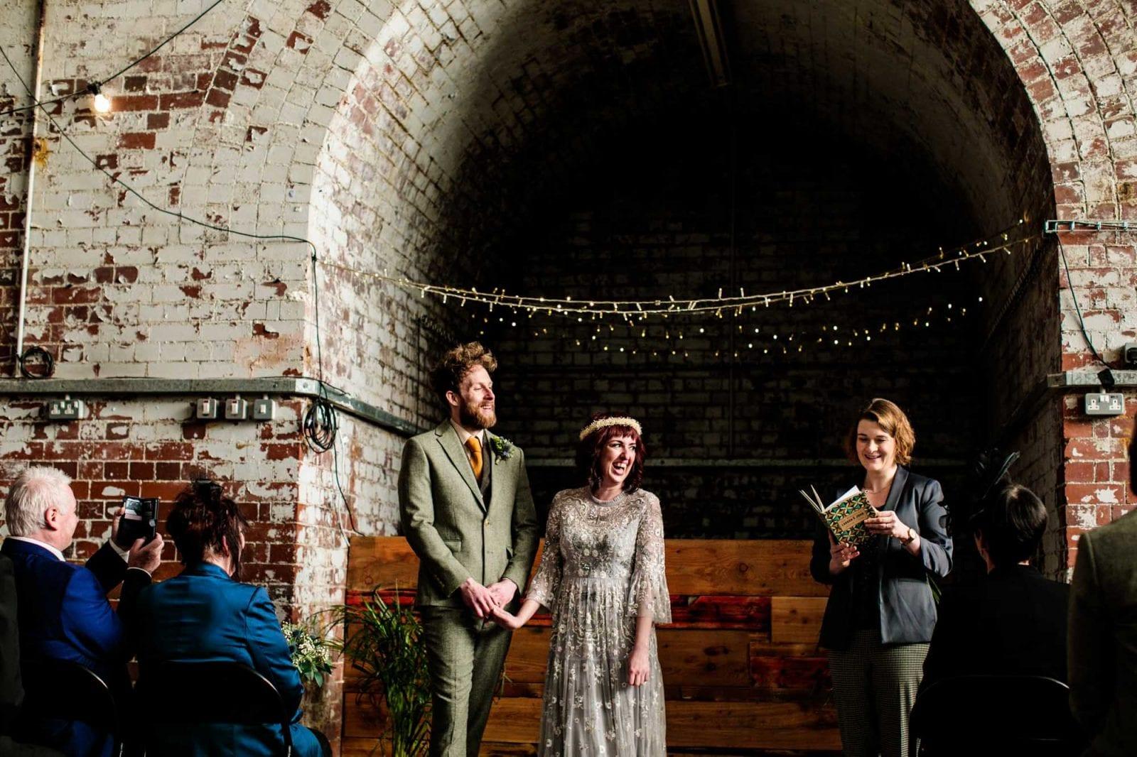 Humanist wedding ceremony Fairfield Social Club