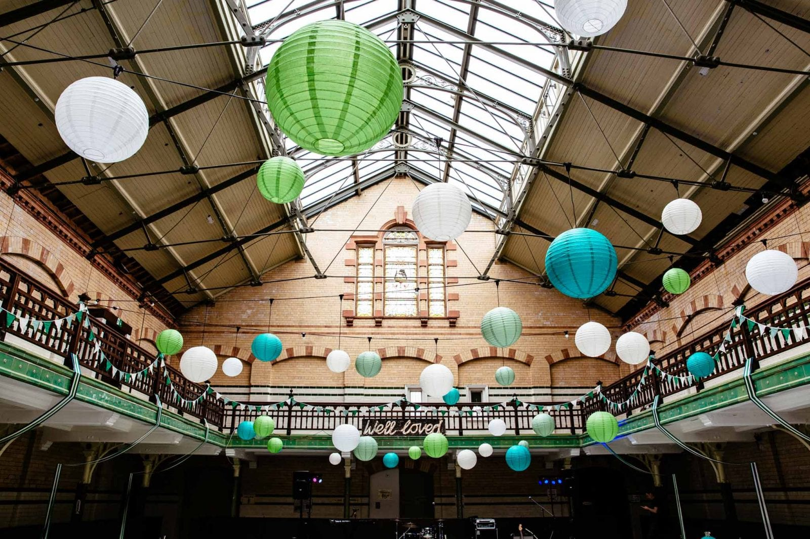Wedding reception Victoria Baths