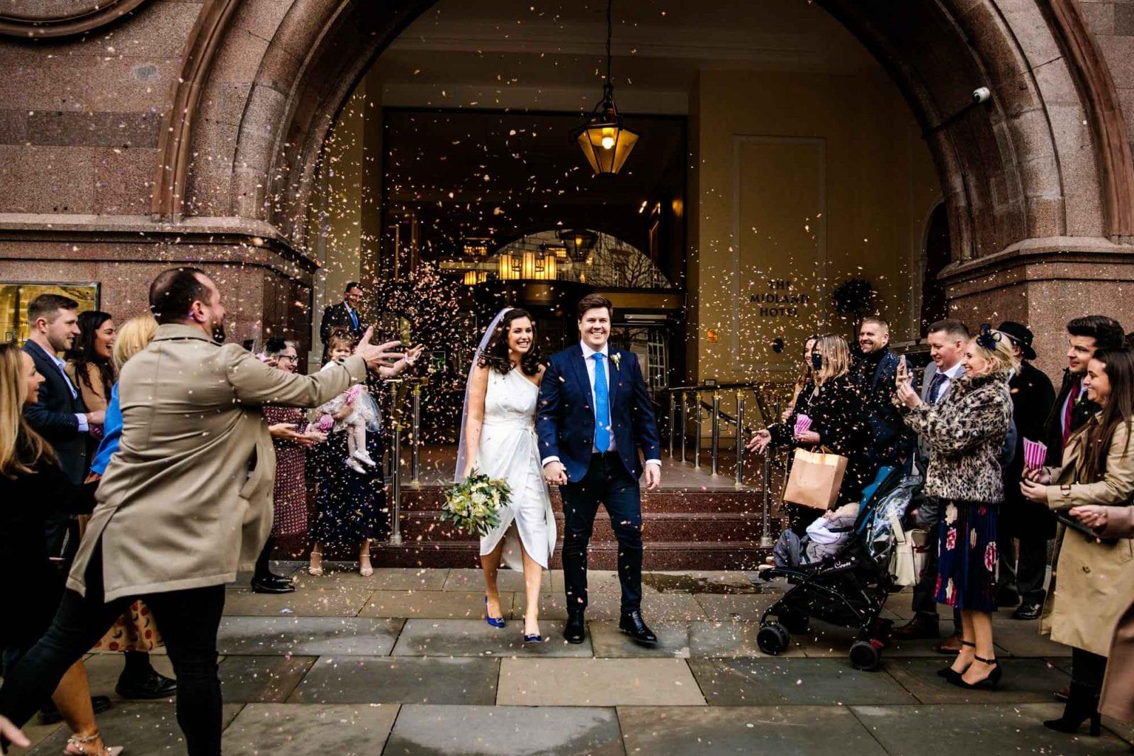 Wedding Photographer Midland Hotel