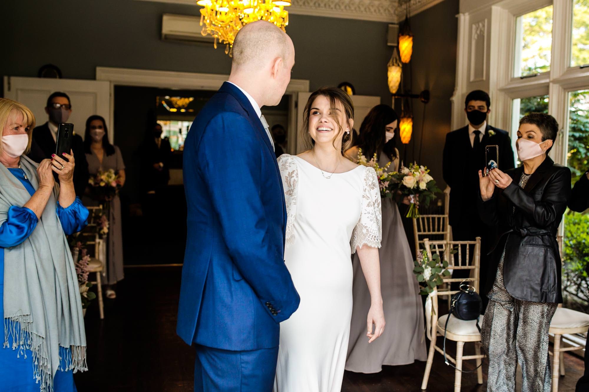 Ceremony at Didsbury House Hotel